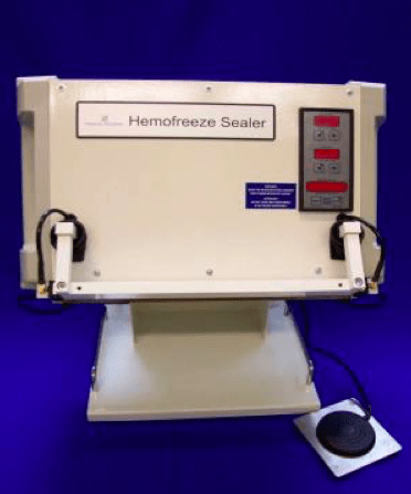 Hemofreeze Sealer WD 3, RF Sealing device